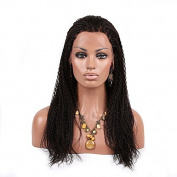 CY Hair Beauty Unprocesssed Natural Colour Braid Hair Lace Front Human Hair Wigs 3m-70cm For Black Women