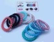 Lindo Multi Colour Big SwirlyDo Hair Ties - 5pcs