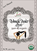 Jiva USDA Organic Black Hair Dye 100 Gramme - Chemical Free & Ecocert Certified