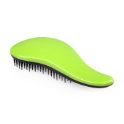 Elfina Detangling Hair Brush Detangler Hair Comb---Green