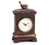 Decorative Golf Clock Accented with Golf Club on Top of Clock