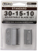 1037-400 Standard Adjustable Replacement Blade Set, 30-15-10 Standard by Wahl Professional Animal