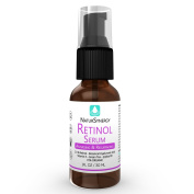 Retinol Serum 2.5% By NaturSynergy - Antiaging & Resurfacing - Restores Your Skin's Beauty, Prevents Ageing - Boosts Collagen & Elastin for Glowing Skin - - Natural, Organic & Unscented