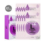 [Nabique] L Lavender petal Tank gell Mask #1 33g*10ea