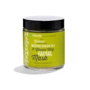 All Natural Purifying Matcha Green Tea and Glacial Clay Facial Mask