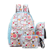 Nappy Tote Bags Baby Nappy Bag Fashion Mummy Backpack,Blue