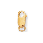 14k Yellow Gold Lobster Catch Lock Replacement Small, Regular, Medium, Large