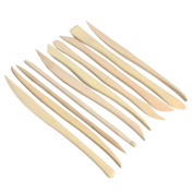 Gilroy 10 Pieces ABS Clay Pottery Sculpture Modelling Tools for Carving Shaping