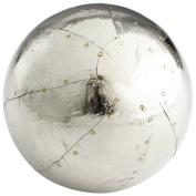 CYAN DESIGN 08135 Large Marbleous Filler, Silver