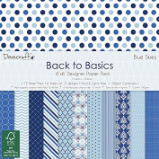 Blue Skies Back to Basics 15cm x 15cm Paper Pad