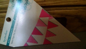 Recollections Boho Banner Cardstock Stack - Pink Prints