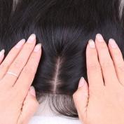 Youth Beauty® Free Part Straight Silk Base Top Closure Bleached Knots Free Part 10cm *10cm Brazilian Virgin Silky Straight Human Hair Closure 30cm