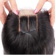 Youth Beauty® Body Wave Silk Base Top Closure Bleached Knots Free Part 10cm X 10cm Brazilian Virgin Human Hair closure Natural Colour 30cm