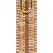 Caspari Gift Bag Wine Bottle Gift Bag - Hamper / Basket Weave Design