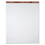 Easel Pads, Quadrille Rule, 27 X 34, White, 50 Sheets, 4 Pads/carton