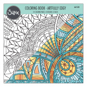 Ellison Sizzix Artfully Edgy Colouring Book by Jen Long