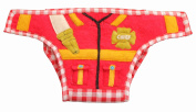 Silk Road Bazaar The Firefighter Nappy Cover, Red/Yellow/Green