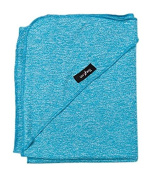 Luv Bug Company UPF 50+ Sun Protection Blanket, Heather Blue