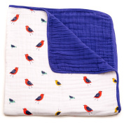 Little Unicorn Cotton Muslin Quilt Blanket - Little Wings
