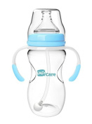 Easycare 240ml PP Wide calibre baby bottles automatically Blue Yellow Pink