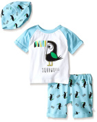 Rosie Pope Baby Boys' Toucan 3 Piece Set With Hat