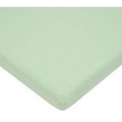 TL Care 100 Percent Cotton Jersey Knit Cradle Sheet, Celery