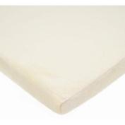TL Care Heavenly Soft Chenille Cradle Sheet, Ecru