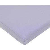 TL Care Supreme Jersey Knit Cradle Sheet, Lavender