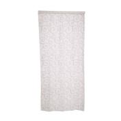 Academyus Chic Room Floral Tulle Curtain Window Door Balcony Lifting Sheer Valance Scarf CurtainRoom Decor (White 100cm x 200cm