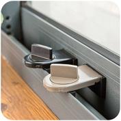 Transfer Window Sliding Sash Stopper Door Children Security Lock Adjustable Robustness