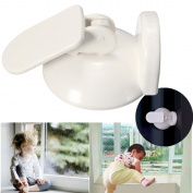 Baby Kids Security Sliding Door Window Clip Stopper Catch Push Pull Locking Child Safety Protection Restrictor