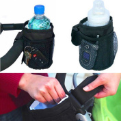 Stroller Buggy Bottle Bag Waterproof Keep Warm Mug Vacuum Cup Insulated Straw Accessory
