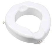 Toilet Seat Raised Bariatric - Item Number B313-00 - 1 Each / Each - 11cm Height