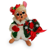 Annalee - 20cm Snowflake Girl Mouse