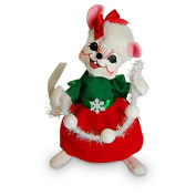 Annalee - 15cm Snowflake Girl Mouse