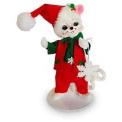 Annalee - 15cm Snowflake Boy Mouse