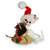 Annalee - 15cm Rustic Yuletide Mouse