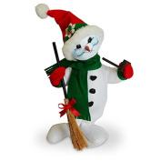 Annalee - 38cm Snowflake Snowman