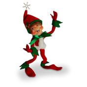 Annalee - 23cm Snowflake Elf - Red