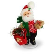Annalee - 23cm Rustic Yuletide Santa