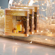 Nantucket Home Battery Operated 90cm LED String Lights, Set of 3