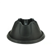 Heavy Duty Black Easy Watering Christmas Tree Stand - For Live Trees Up To 3m
