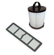 Best Vacuum Filter Brand Filter Bundle DCF21 & EF6 HEPA Exhaust Filter for EUREKA Vacuum 68931A, 69963 For Air Speed Vacuum AS1001A, AS1004A, AS1002A, AS1041A