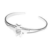MB Michele Benjamin LLC Jewellery Design Women's Sterling Silver Bee Cuff Bracelet