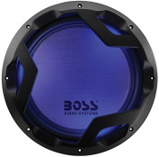 Boss Audio Systems PD12LED Boss Audio 1600 Watt 30cm Dual 4 Ohm Subwoofer Featuring Multi-LED Illumination