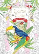 Exotic Birds (Colouring Book, by Numbers)
