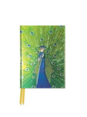 Peacock in Blue and Green (Foiled Pocket Journal) (Flame Tree Pocket Books)