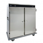 Cres Cor CCB-120A Two Door Mobile Banquet Thermostatically Heated Cabinet