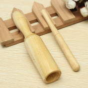 Wooden Kid Children Musical Toy Crow Sounder Percussion Instrument Ailanthus