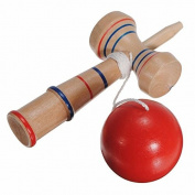 Wooden Wood Kendama Ball Children Kids Traditional Technical Toys